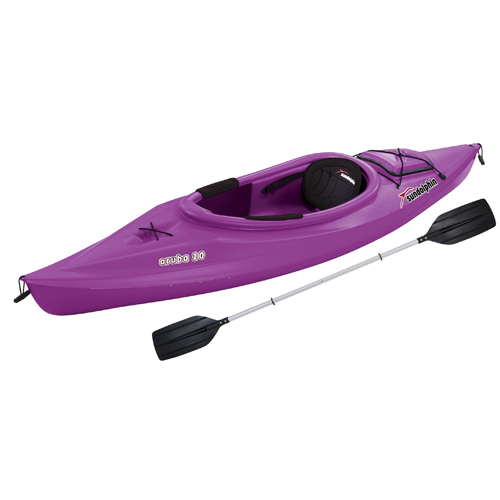 "Aruba 10"" Sit-In Kayak, Purple, swatch"