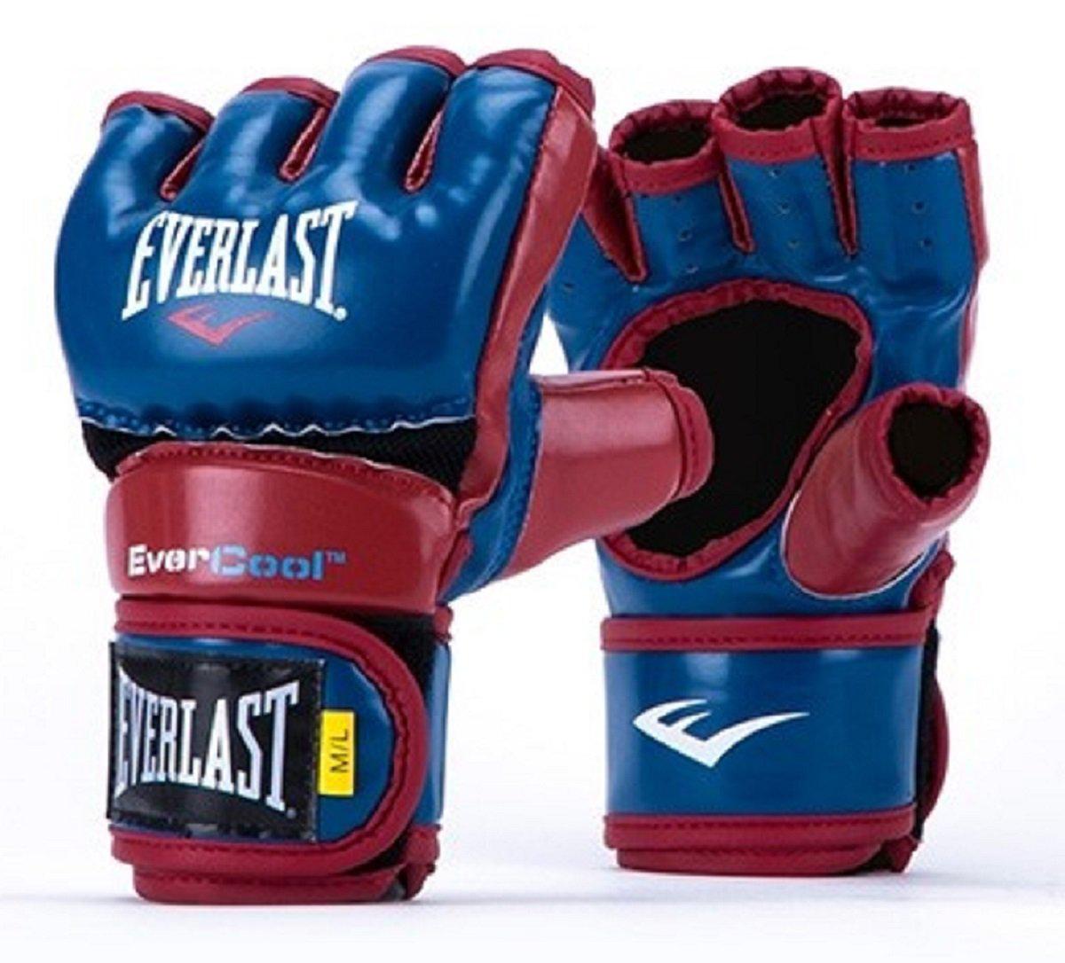 Everstrike Training Gloves, Blue/Red, swatch
