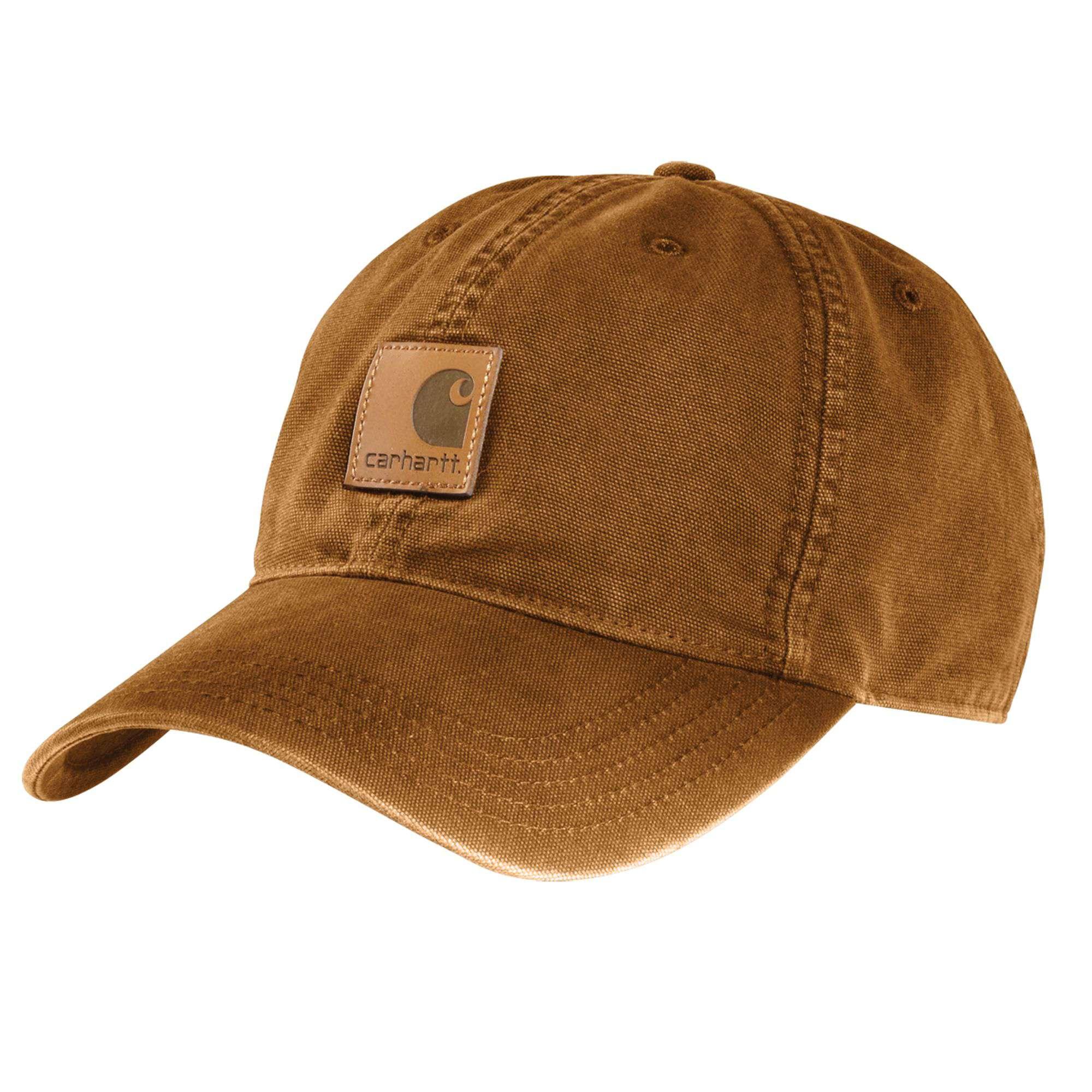 M Cotton Canvas Cap, Brown, swatch