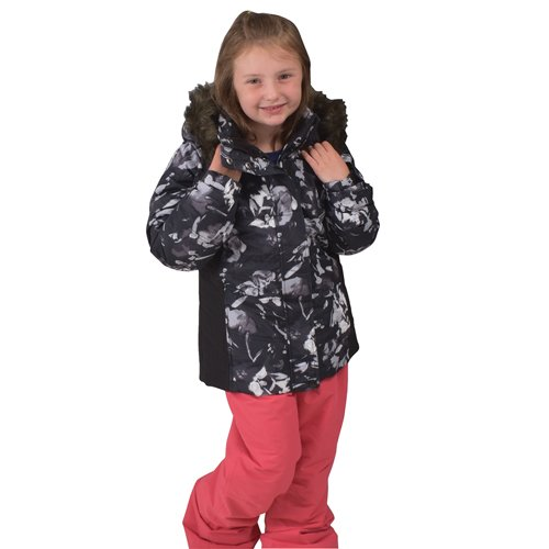 Girl's Aspen Calling Jacket, Floral, swatch