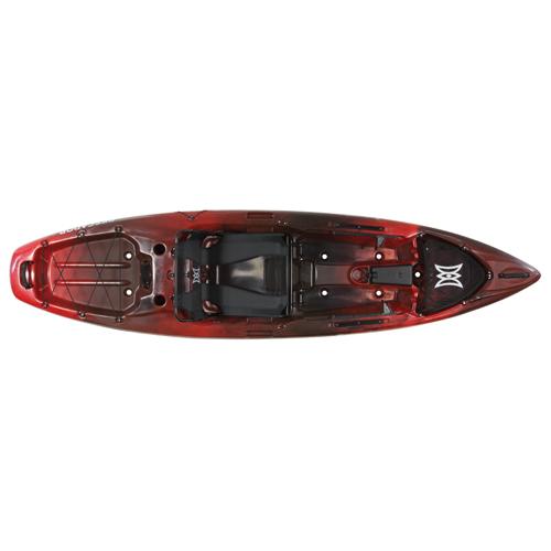 Pescador 10 Pro Kayak, Red/Black, swatch
