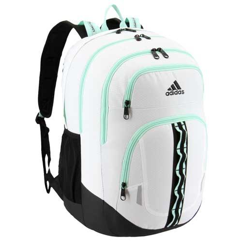 Prime V Backpack, White/Aqua, swatch