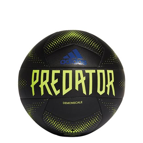 Predator Training Soccer Ball, Black/Yellow, swatch