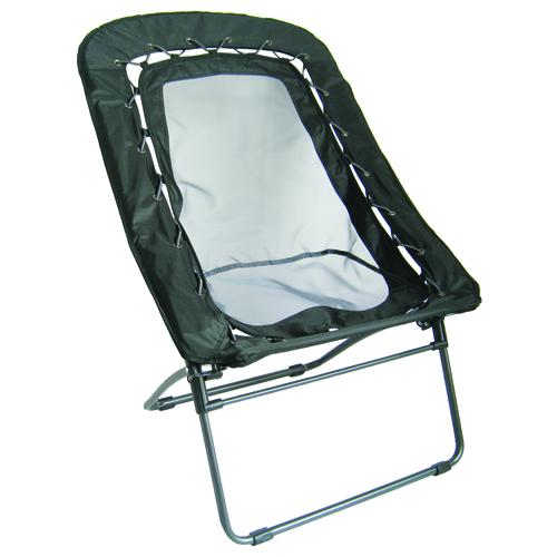 Rectangular Bengee Chair, Black, swatch