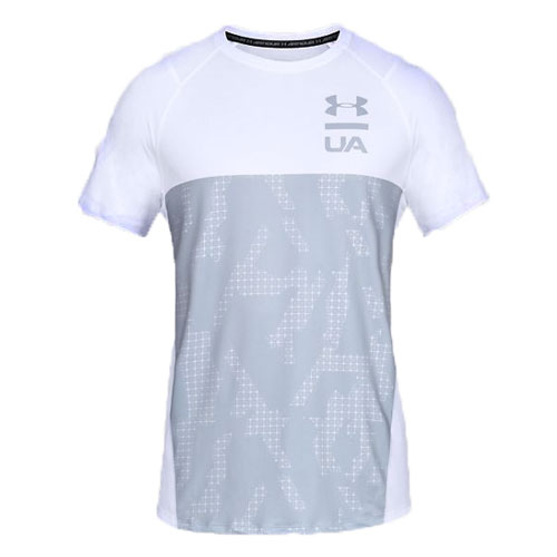 Men's MK1 Colorblock Short Sleeve Tee, White, swatch
