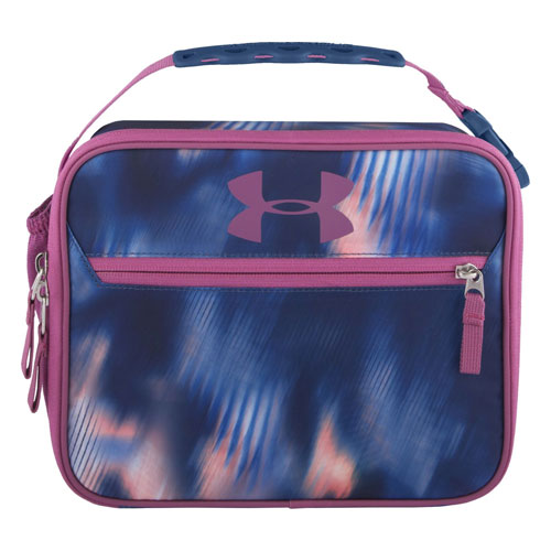 UA Scrimmage Lunch Box, Purple/Blue, swatch