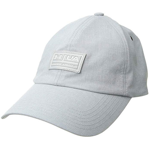 Men's Performance Lifestyle Dad Cap, Gray/Silver, swatch