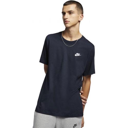 Men's Club Short Sleeve Tee, Navy, swatch