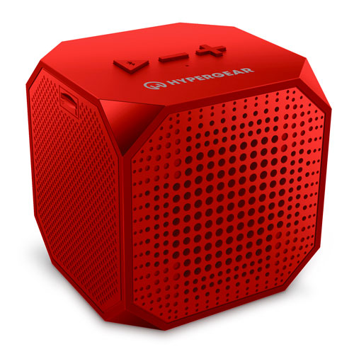 Sound Cube Wireless Speaker, Red, swatch