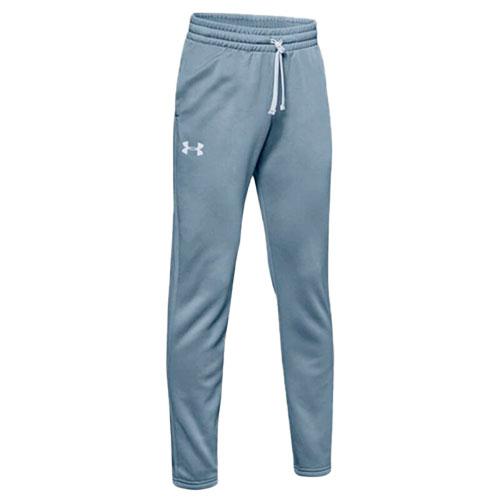 Boy's Armour Fleece Pant, Gray, swatch