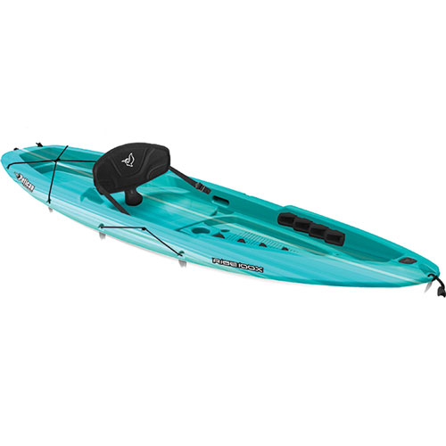 Rise 100X Fade Sit-On Kayak, Turquoise,Aqua, swatch