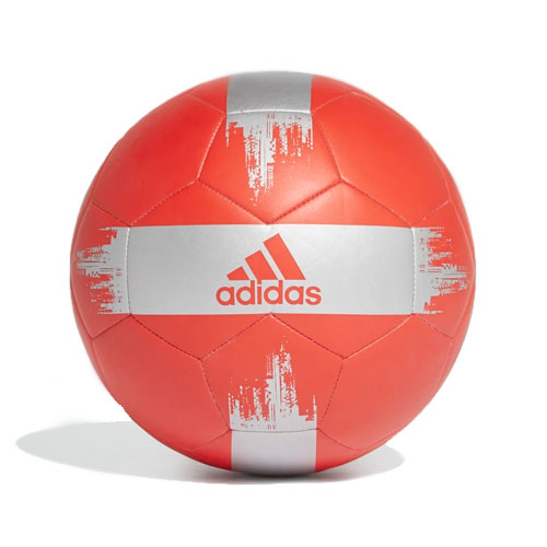 EPP II Soccer Ball, Red/Silver, swatch