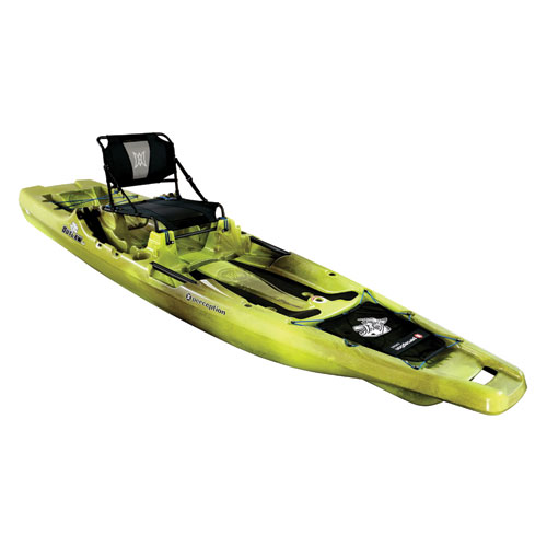 Outlaw 11.5' Fishing Kayak, Green/Brown, swatch