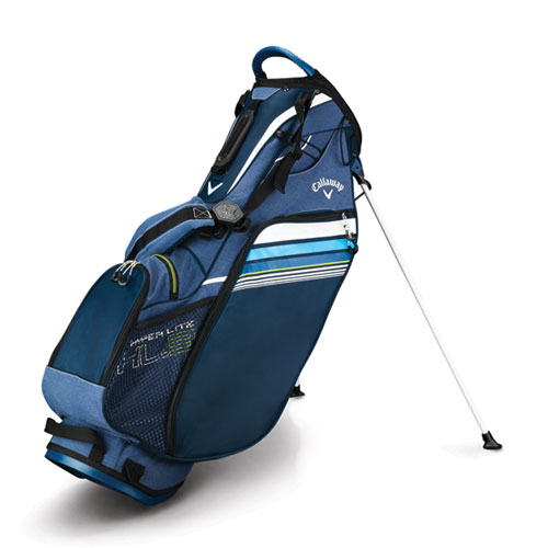 Hyper-Lite 3 Golf Stand Bag, Navy/White, swatch