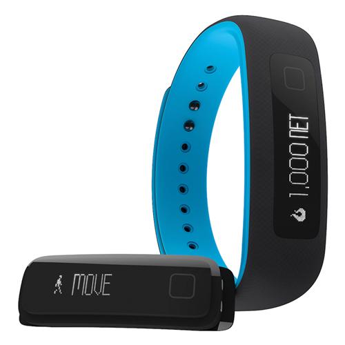 Vue Wearable Fitness Tracker, Black/Blue, swatch