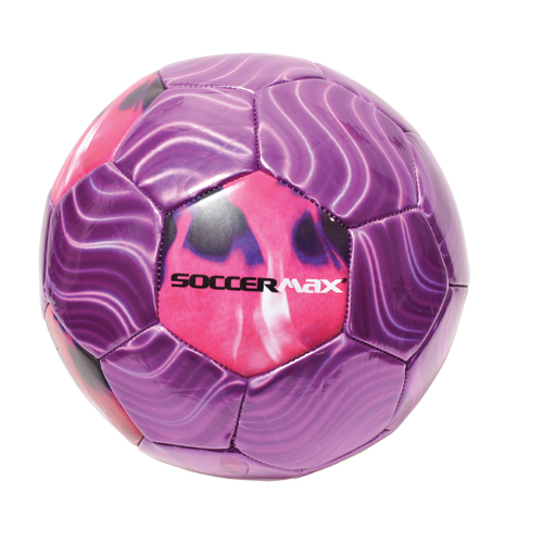 Flame Soccer Ball, Purple/Pink, swatch