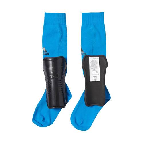 Youth Shin Guard Socks, Blue, swatch