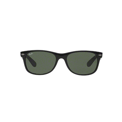 New Wayfarer Classic Sunglasses, Black/Black, swatch