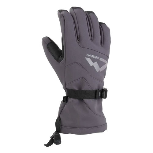 Men's Fall Line IV Gloves, Gray, swatch