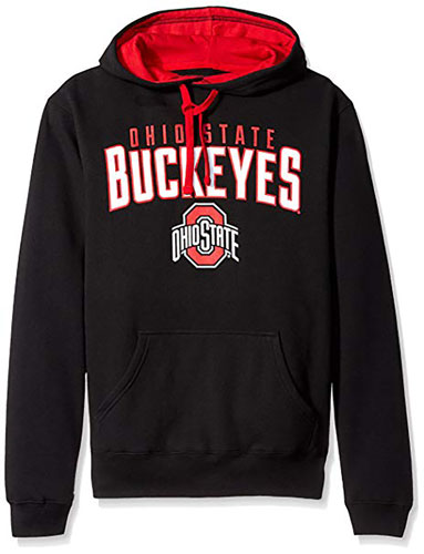 Ohio State Fleece Hoodie, Team, swatch