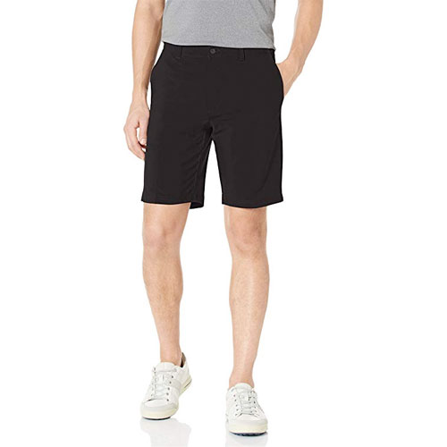 Men's Active Flex Regular-Fit Performance Golf Shorts, Black, swatch