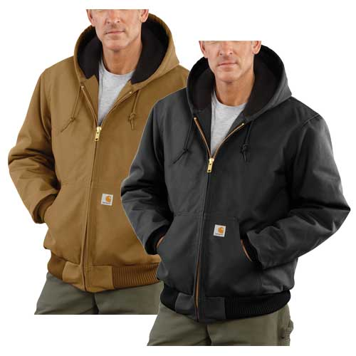 Men's Quilt Lined Active Jacket, Brown, swatch