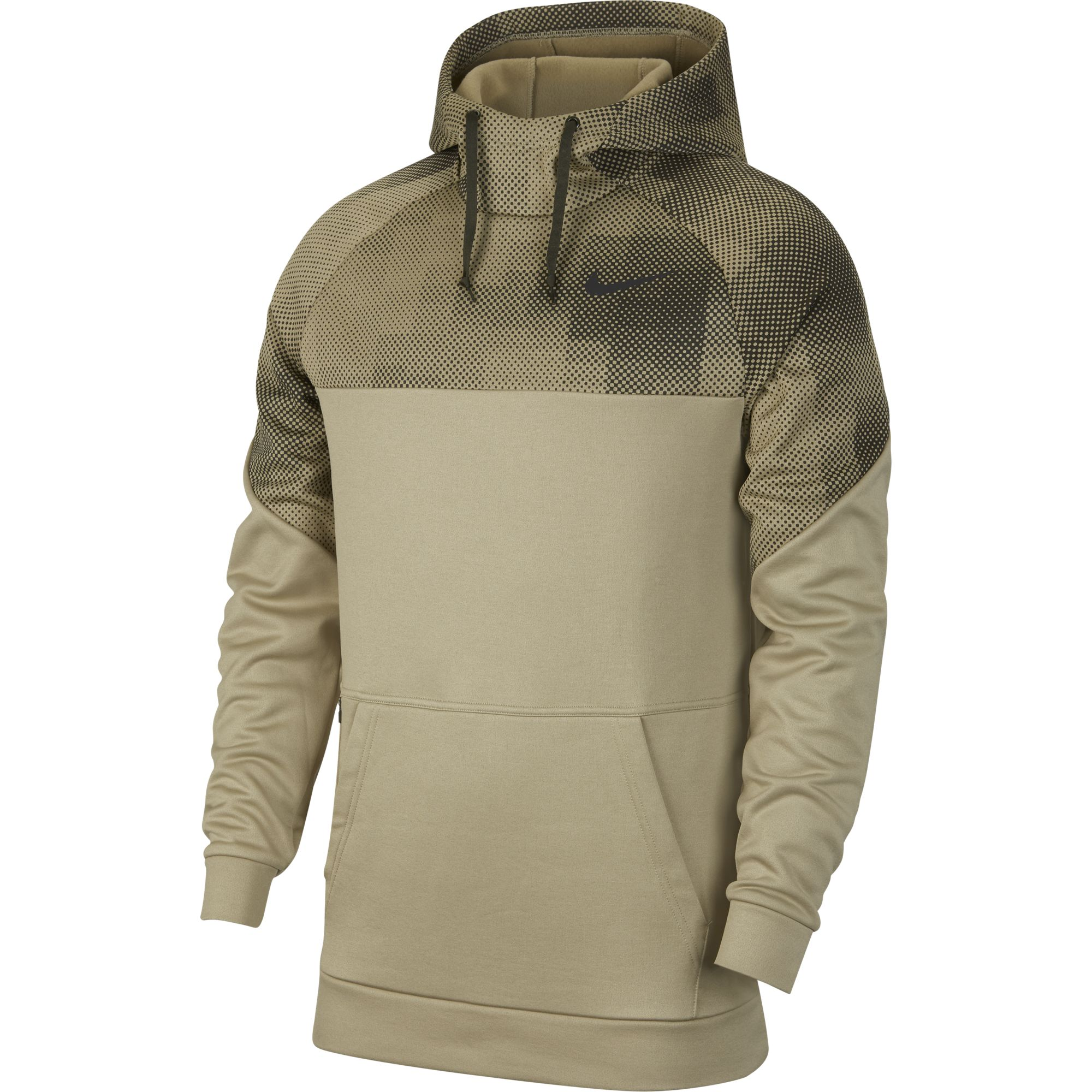 Men's Therma Pullover Hoodie, Gray, swatch