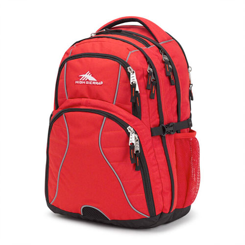 Swerve Backpack, Crimson, swatch
