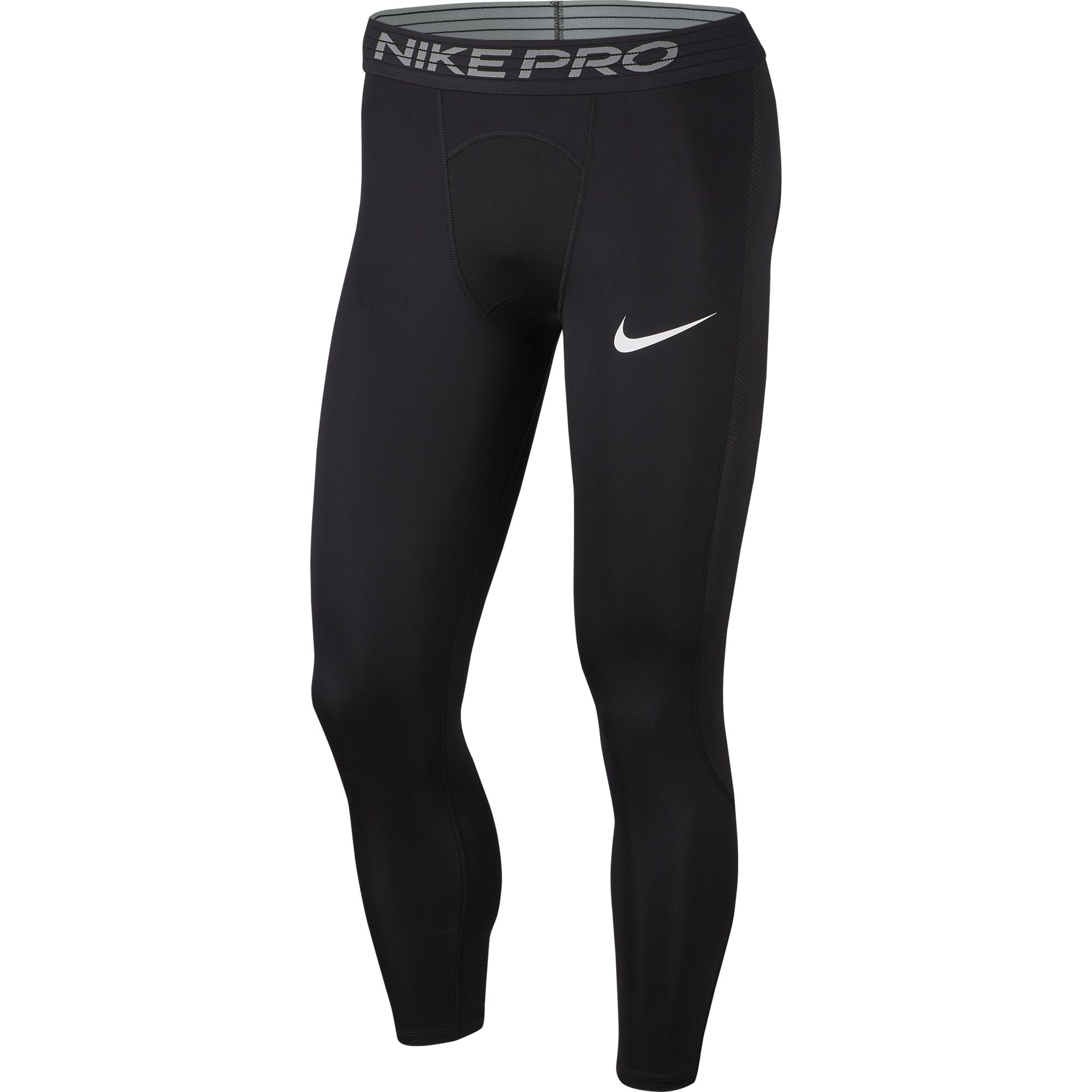 Men's Pro 3/4 Tight, Black, swatch