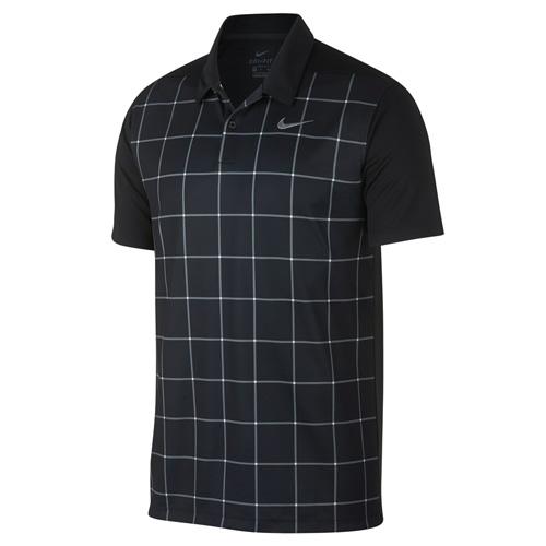 Men's Essential Dri-FIT Polo, Black, swatch