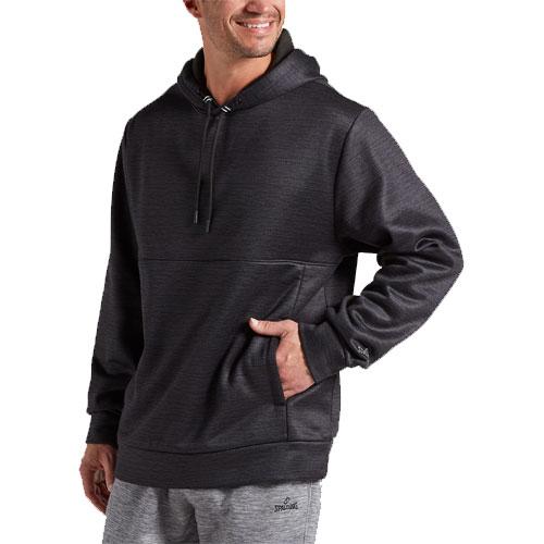 Men's Stack 2.0 Pullover Fleece Hoodie, Black, swatch