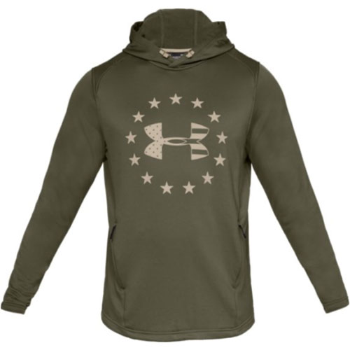 Men's Tech Terry Freedom Hoodie, Green, swatch