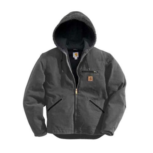 Men's Sandstone Sherpa-Lined Sierra Jacket, Dark Gray,Pewter,Slate, swatch