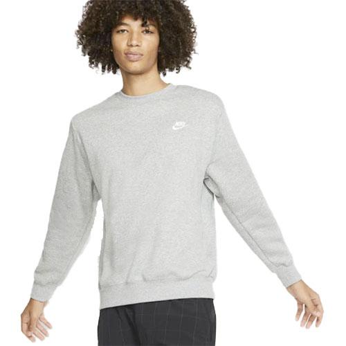 Men's Sportswear Club Crewneck Sweatshirt, Lt Gray,Dove Gray, swatch