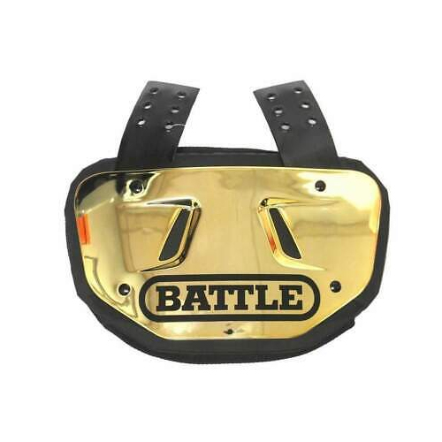 Youth Chrome Back Plate, Gold, Yellow, swatch