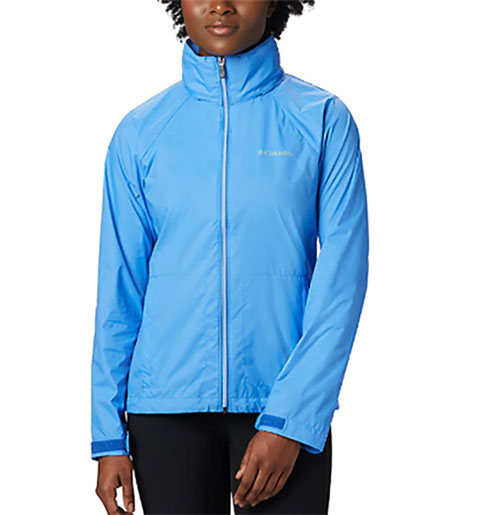 Women's Switchback III Hooded Packable Jacket, Blue, swatch