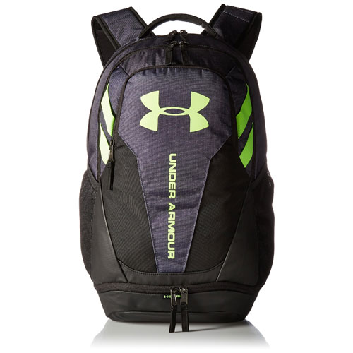 Hustle 3.0 Backpack, Gray/Lime, swatch