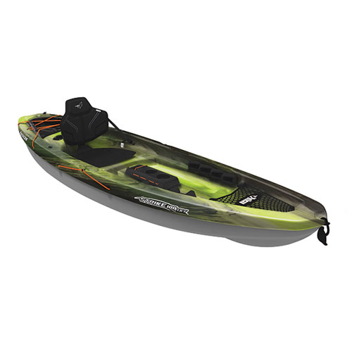 Strike 100NXT Angler Sit-on Kayak, Camouflage Green, swatch