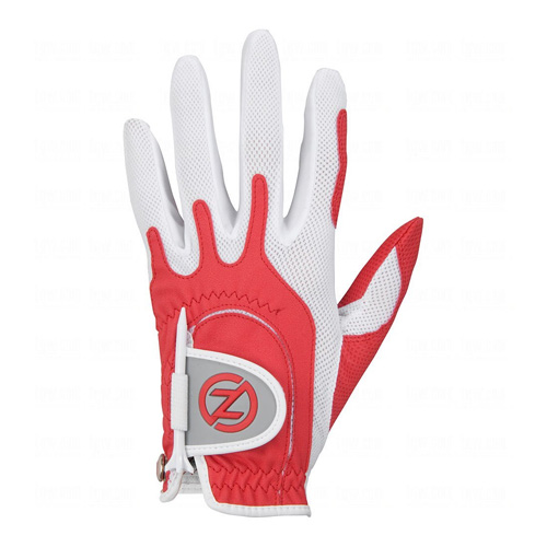 Ladies Left Hand Golf Glove, Red, swatch