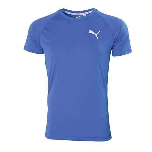 Men's RTG Logo Shirt Sleeve Tee, Blue, swatch