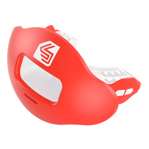 Max Airflow 2.0 Lip Mouthguard, Red, swatch