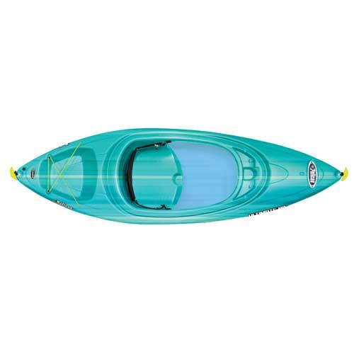 Ultimate 80x Sit-in Kayak, Turquoise,Aqua, swatch