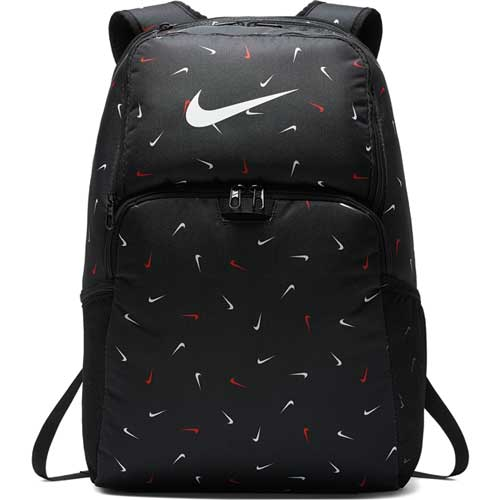 Brasilia Xl Backpack, Black With Print, swatch