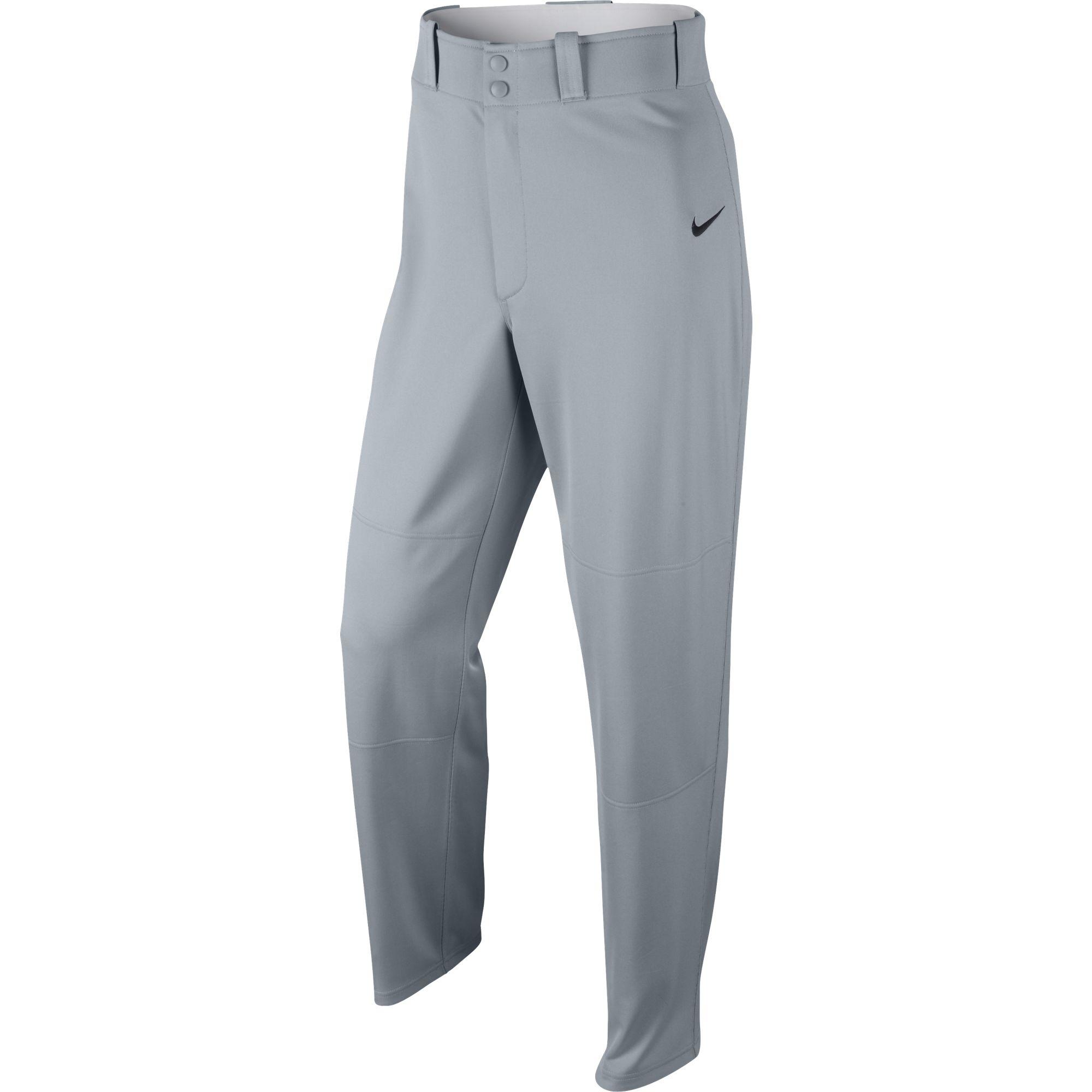 Men's  Core DF Open Bottom Baseball Pants, Gray, swatch