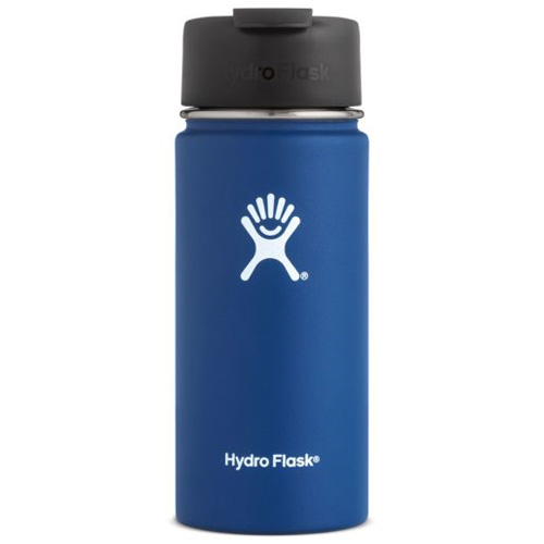 16 Oz Wide Mouth Water Bottle, Royal Bl,Sapphire,Marine, swatch