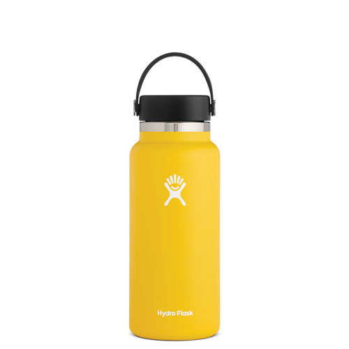 32 Oz Wide Mouth Water Bottle, Sunflower, swatch