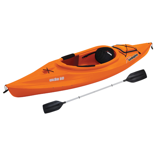 "Aruba 10"" Sit-In Kayak, Orange, swatch"