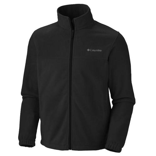 Men's Steens Mountain Full Zip Fleece, Black, swatch