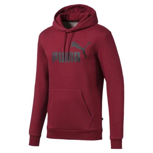 Men's Essentials Fleece Hoodie, Dk Red,Wine,Ruby,Burgandy, swatch