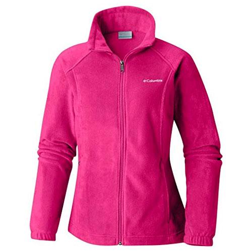 Women's Benton Springs Full Zip Fleece Jacket, Pink, swatch